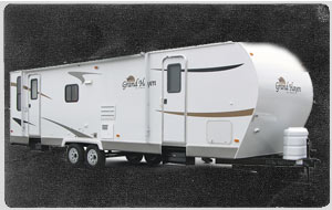 Temporary housing trailers